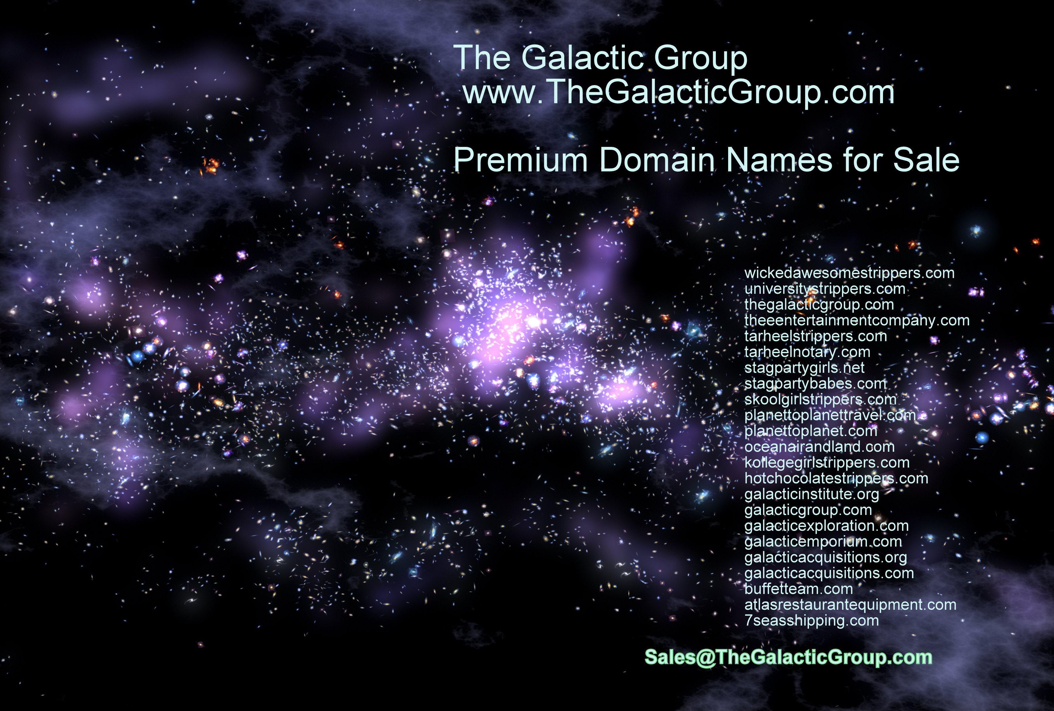 Sales@TheGalacticGroup.com